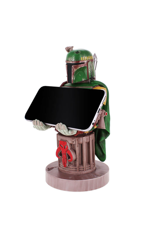 Boba Fett Cable Guy Holding Phone Front Angle