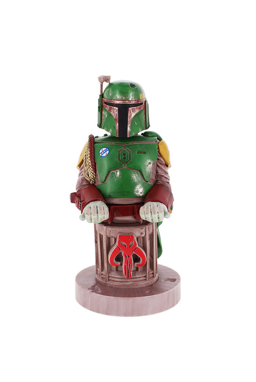 Boba Fett Cable Guy Phone and Controller Holder Front Angle