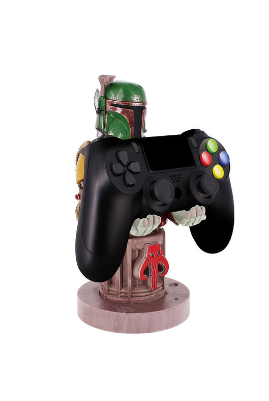 Boba Fett Cable Guy Holding Controller Front Angle