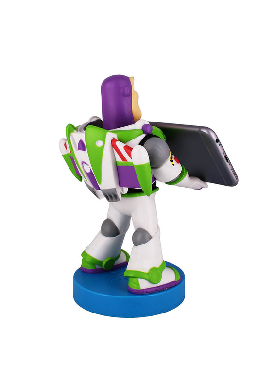 Buzz Lightyear Cable Guy Holding Phone Rear Angle