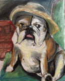 Becca Precious Pooch 16x20 Original Oil Painting $575 SOLD