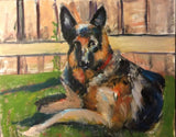 One beautiful Pet 18X24 Original Oil Painting $675 SOLD
