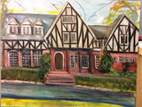 House Warming Gift 16x20 Original Oil Painting $595 SOLD