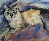 One Beautiful Kitty 16x20 Original Oil Painting $575 SOLD