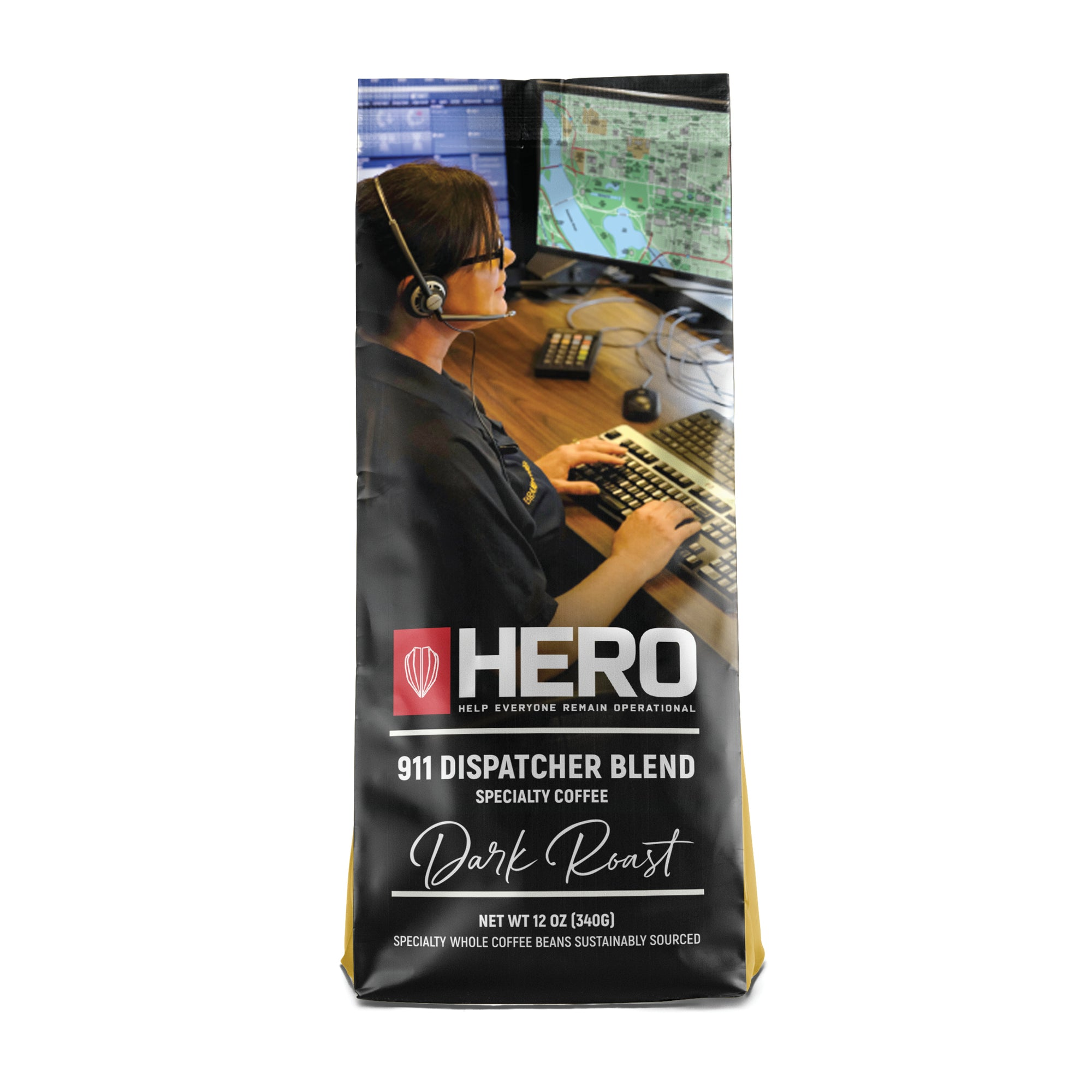 HERO 911 Dispatcher Blend Dark Roast Coffee