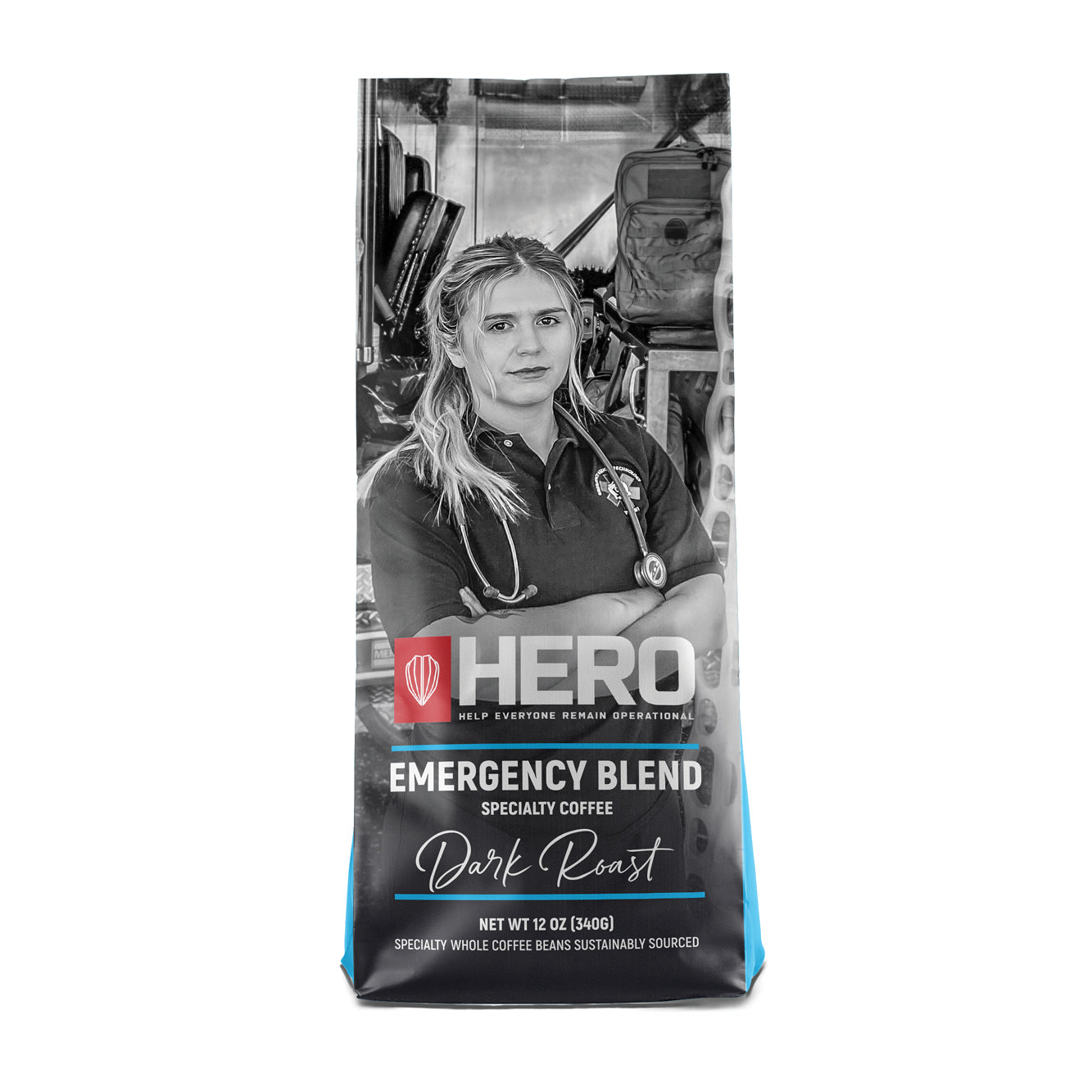 HERO Emergency Blend Dark Roast Coffee
