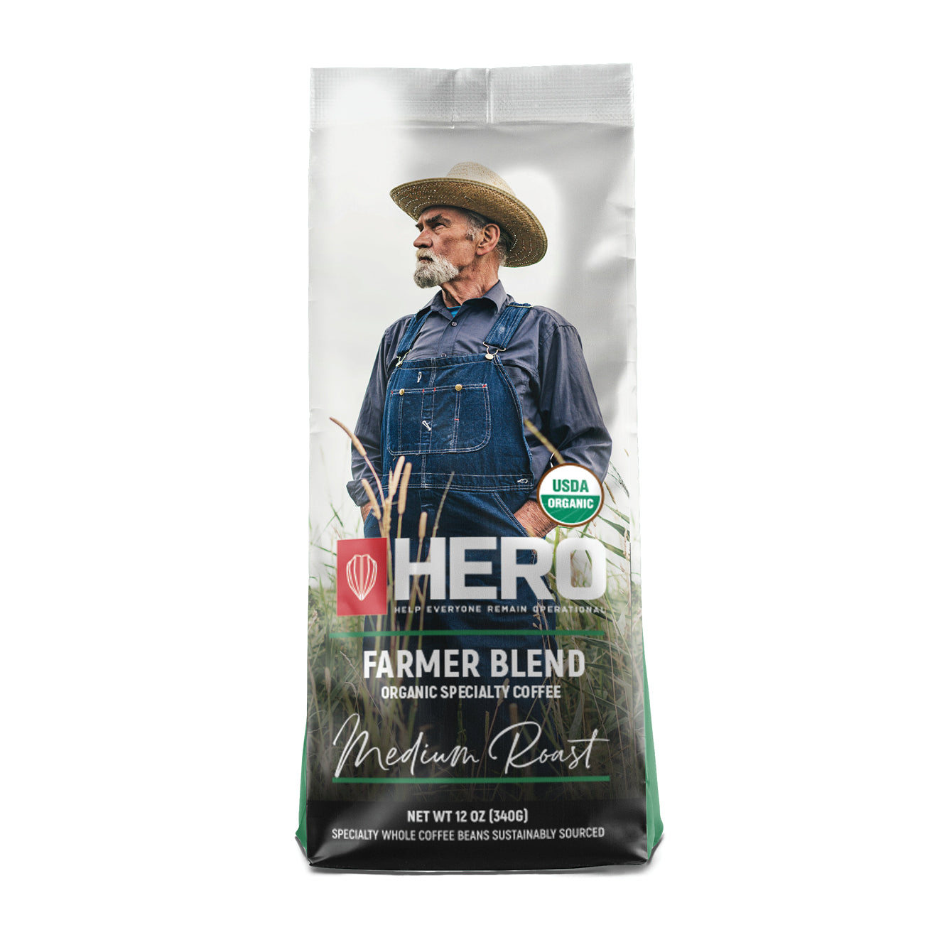 HERO Farmer Blend Organic Medium Roast Coffee