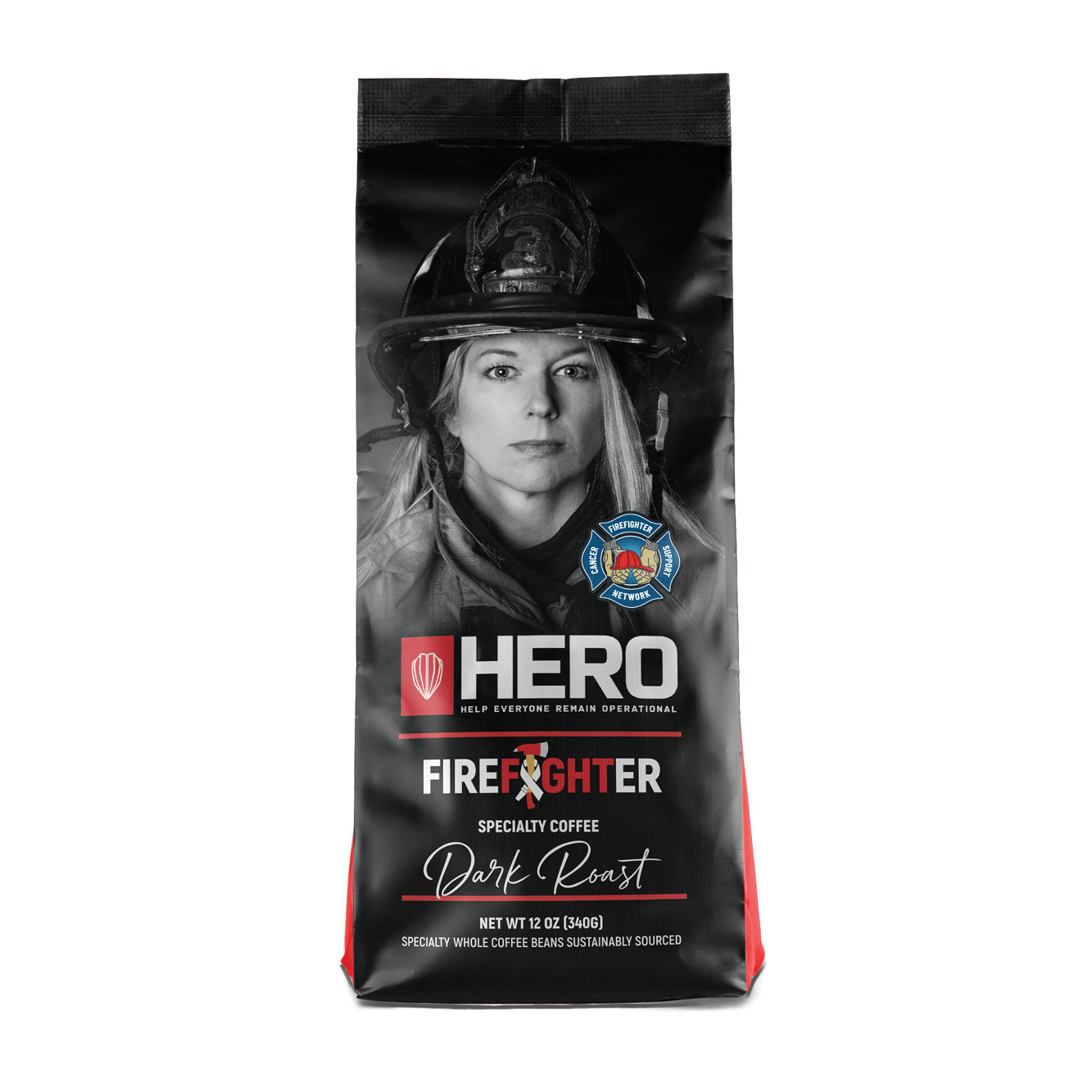 HERO Firefighter Blend Dark Roast Coffee