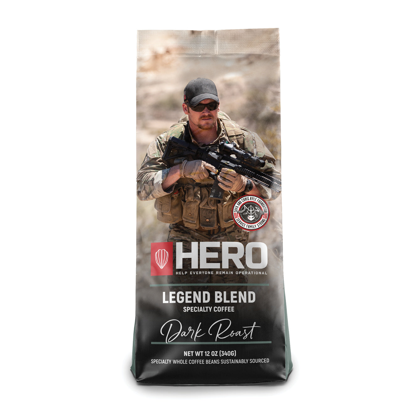 HERO Legend Blend Dark Roast Coffee