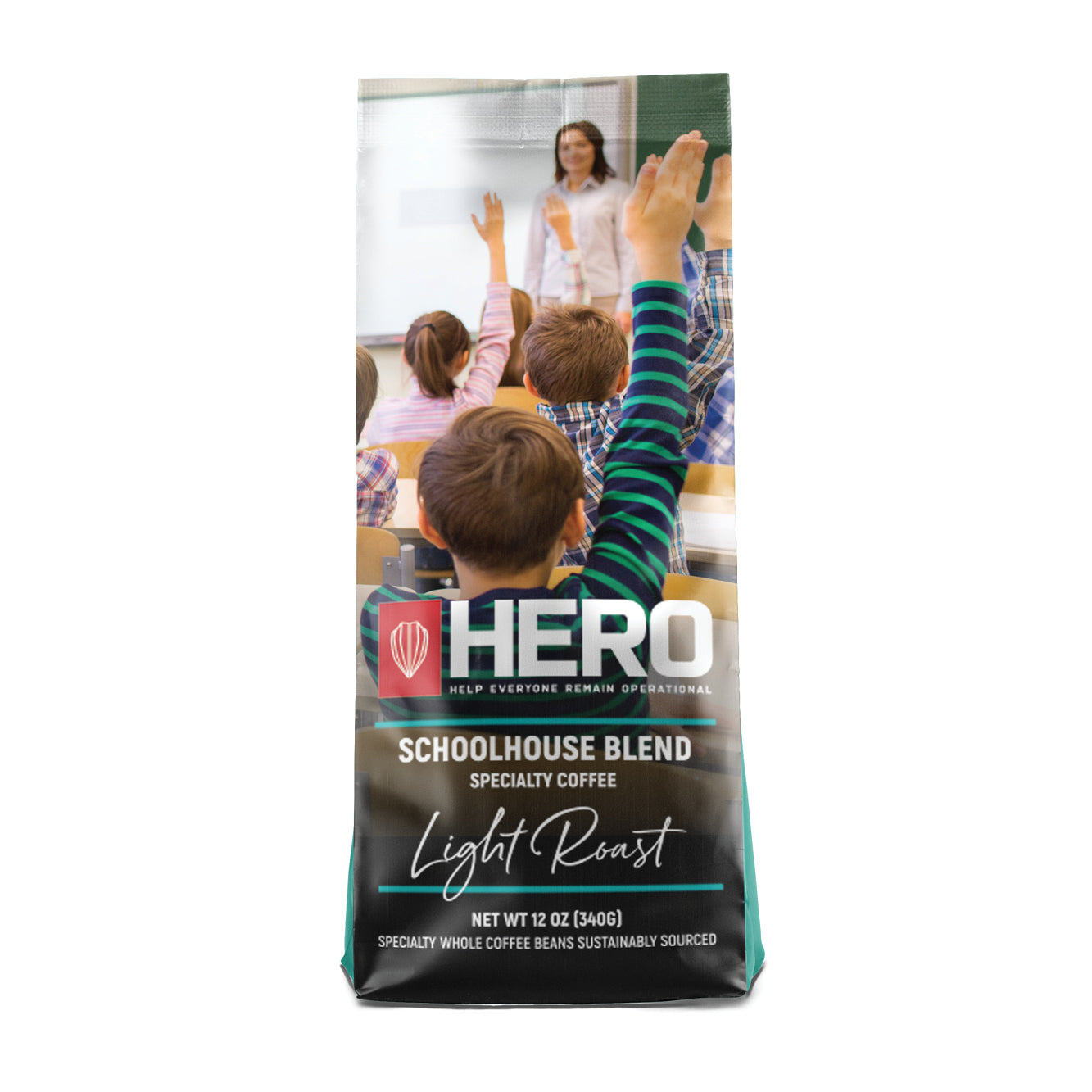 HERO Schoolhouse Blend Light Roast Coffee