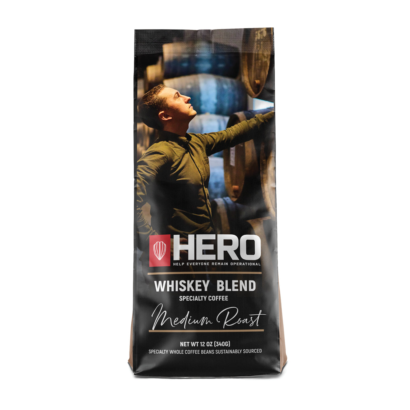 HERO Whiskey Blend Medium Roast Coffee