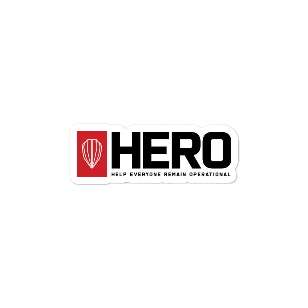 HERO stickers