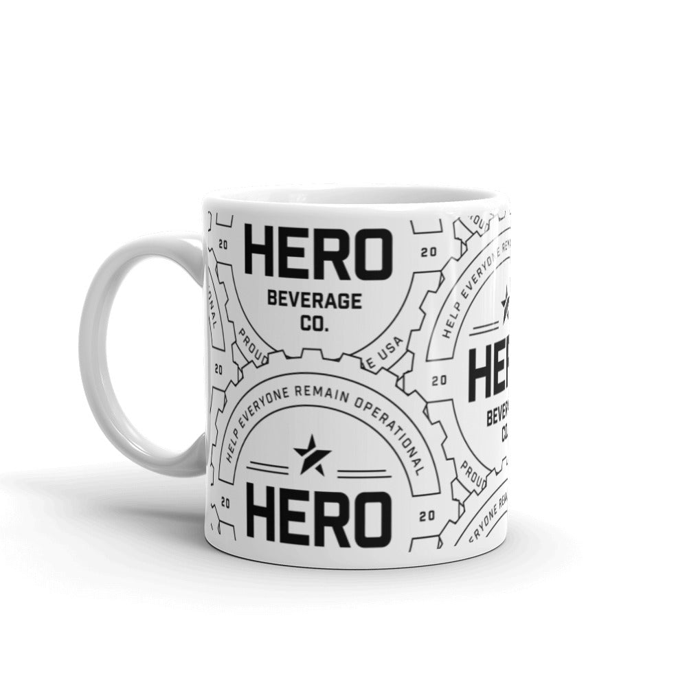HERO ALL OVER MUG WHITE