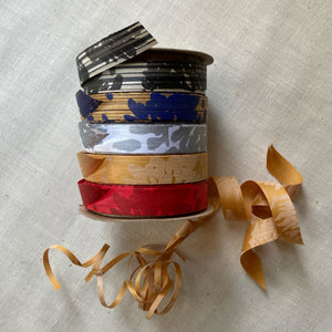 Printed wrapping ribbons