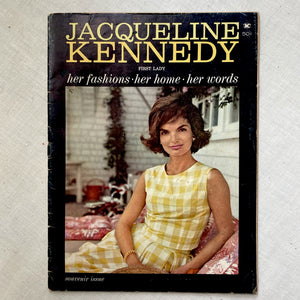 Jacqueline Kennedy: First Lady. Souvenir Issue
