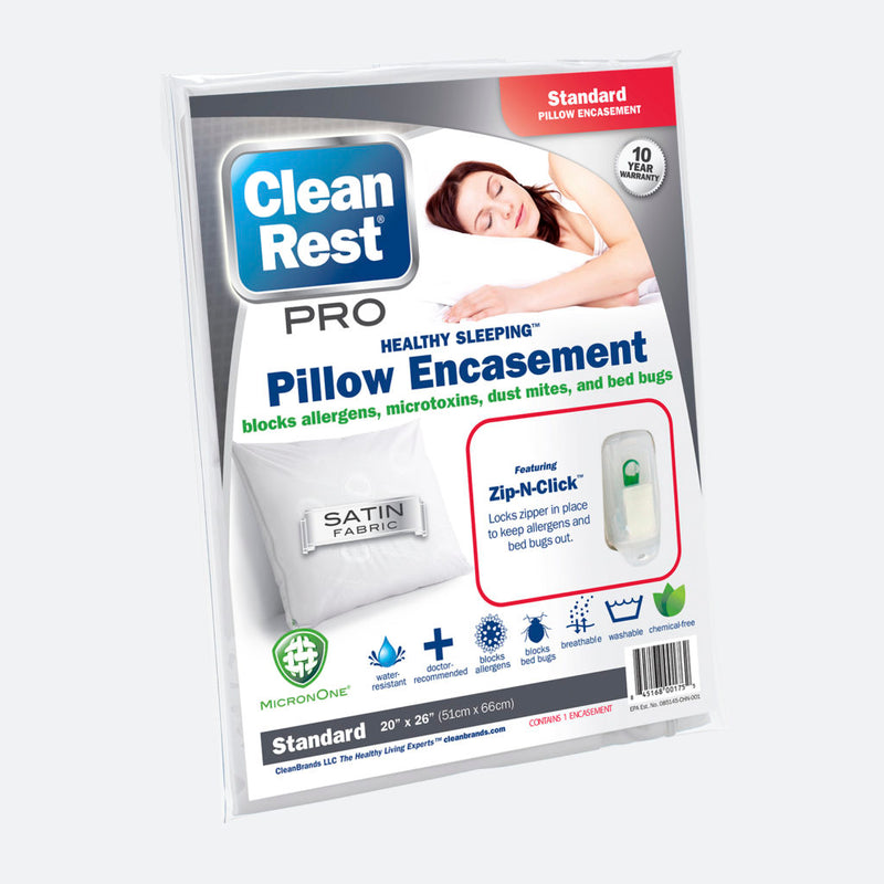 CleanRest PRO Pillow Encasement