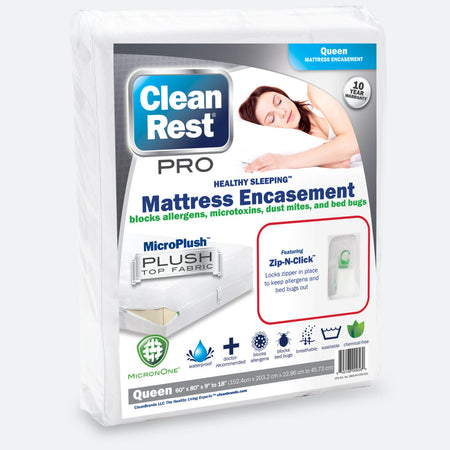 CleanRest PRO Waterproof Mattress Encasement