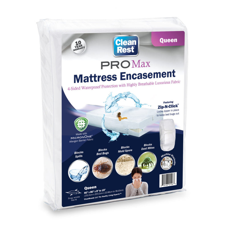 CleanRest PRO Max Waterproof Mattress Encasement
