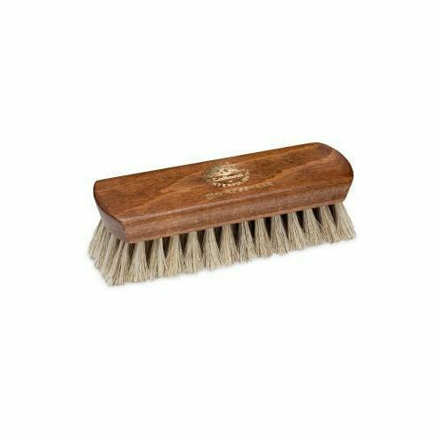 Polishing horsehair brush