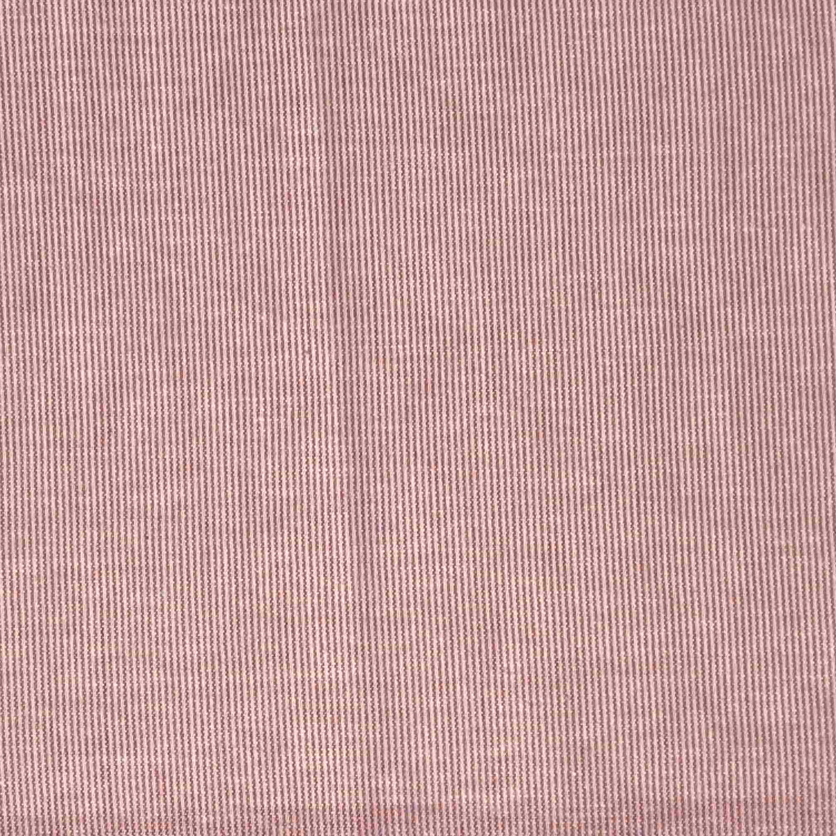 Mauve Micro Stripes: Pocket <1 Micron Filtering Mask, Breathable & Good Seal
