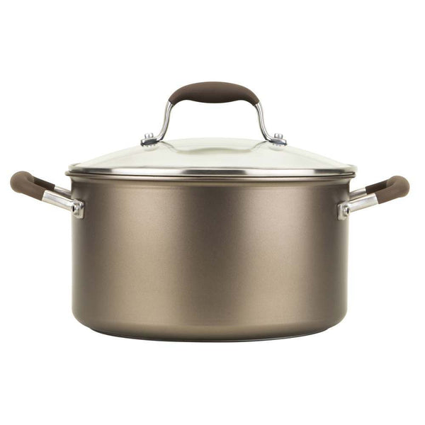 Anolon Hard Anodised Advanced+ Umber 24cm/5.7L Stockpot