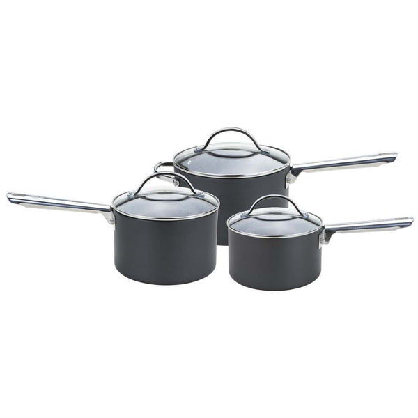 Anolon Hard Anodised Professional 3 Piece Saucepan Set