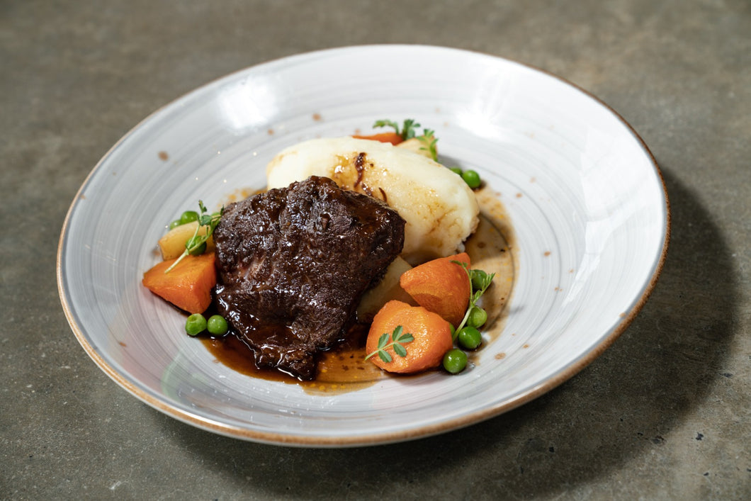 Slow cooked Beef Cheek