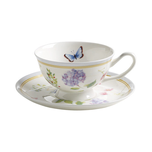 Maxwell & Williams Butterfly Tea Set Mauve