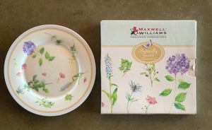 Butterfly Garden Fine China Plate