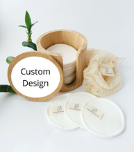 Load image into Gallery viewer, Reusable Cosmetic Pads + Custom Engraving