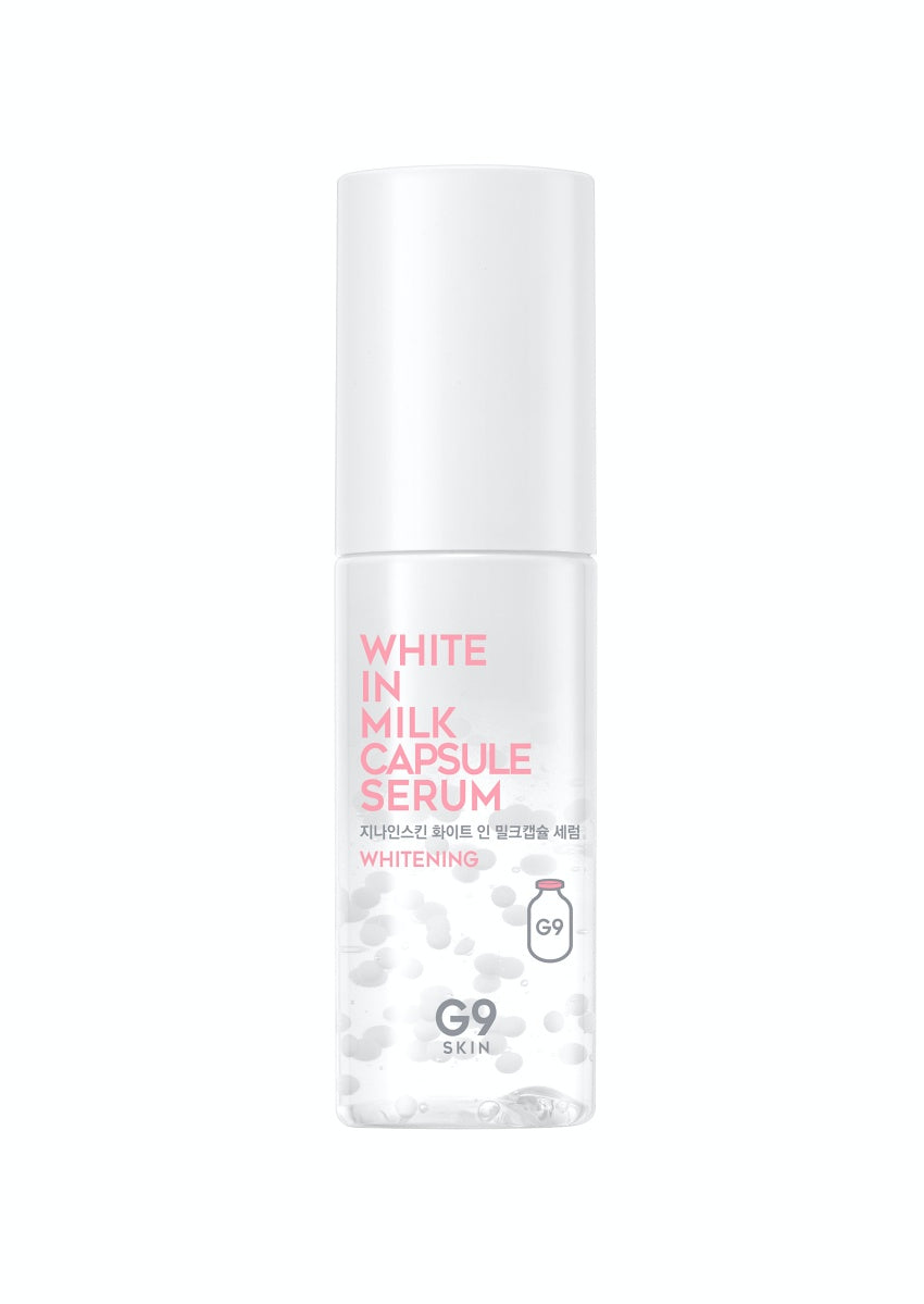 G9Skin, white in milk serum, moisturize