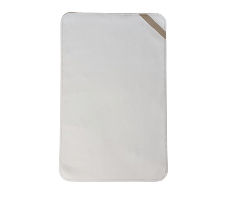 Vegan Leather Changing Mat Changing Mat Yuumacollection  #color_ivory