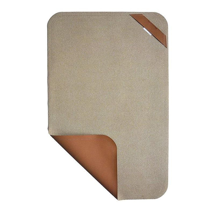 Vegan Leather Changing Mat Changing Mat Yuumacollection   #color_cinnamon