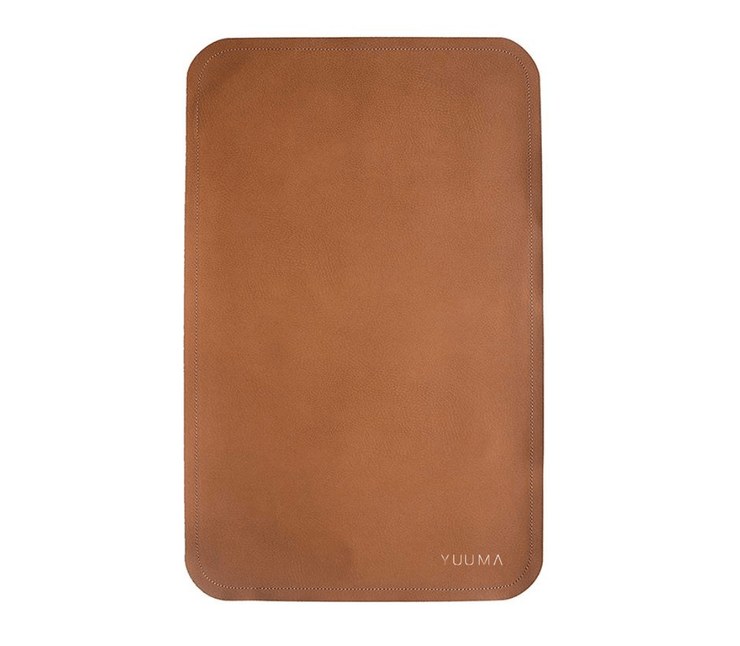 Vegan Leather Baby Mat Changing mat #color_cinnamon