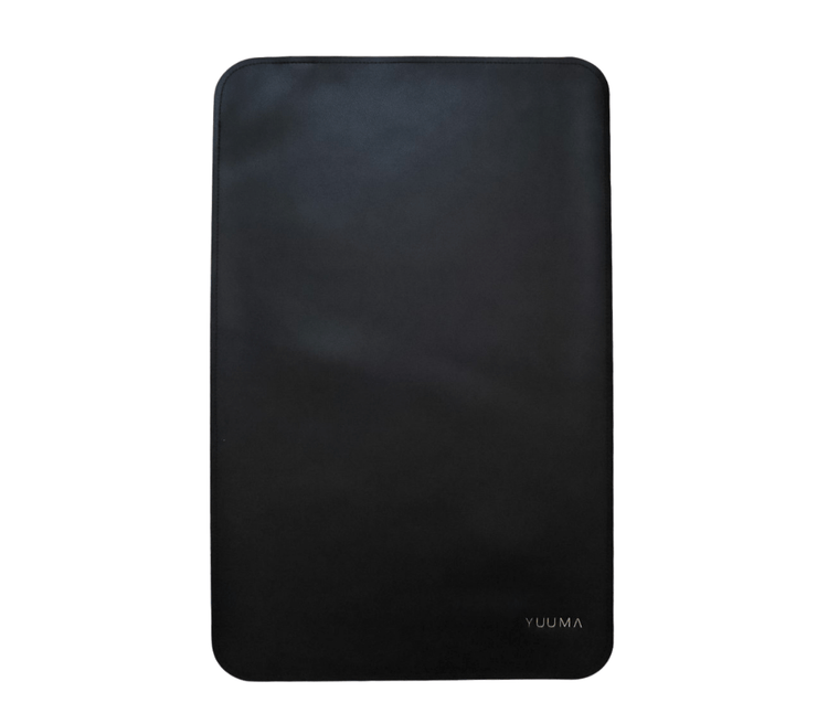 Vegan Leather Changing Mat Changing Mat Yuumacollection Onyx  #color_onyx