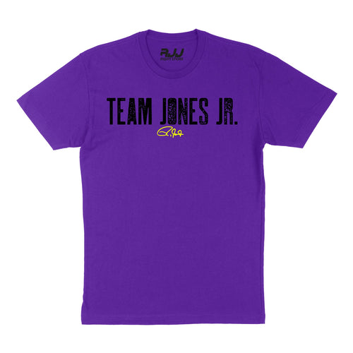 Team Jones JR Fight Colors