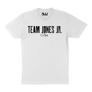 White Team Jones JR T-Shirt