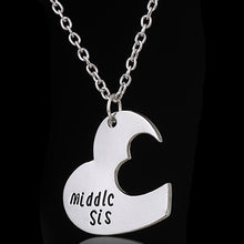 Load image into Gallery viewer, Broken Heart Sisters Matching Love Necklace