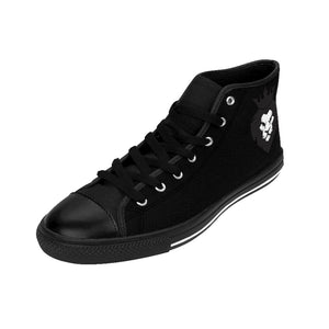 King Series Men's Black High-top Sneakers