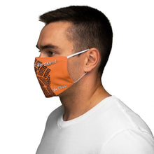 Load image into Gallery viewer, BLM Series - Together We Stand Orange Face Mask