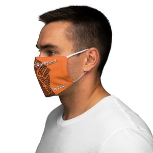 BLM Series - Together We Stand Orange Face Mask