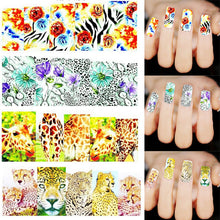 Load image into Gallery viewer, Fashion Animal Nail Art Stickers