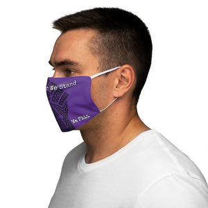 BLM Series - Together We Stand Purple Face Mask