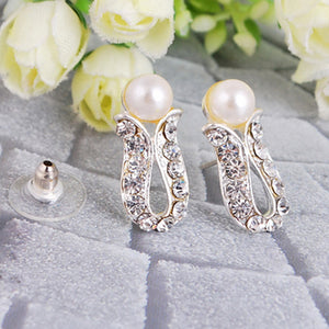 Fashion Faux Pearl Jewelry Set Gift