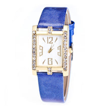 Load image into Gallery viewer, Fashion Rhinestone Rectangle Arabic Numbers Quartz Analog Wrist Watch
