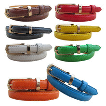 Load image into Gallery viewer, Women Faux Leather Belt