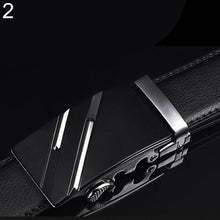 Load image into Gallery viewer, Men's Fashion Faux Leather Automatic Buckle Belt