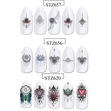 Load image into Gallery viewer, Lovely Nail Art Water Transfer Decals