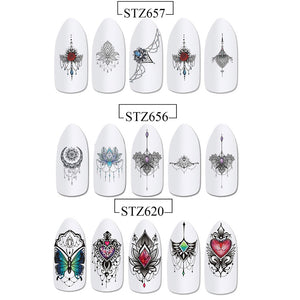 Lovely Nail Art Water Transfer Decals