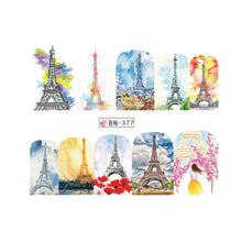 Load image into Gallery viewer, Graceful Eiffel Tower Art Stickers